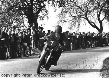 Rupert Hollaus, Straßenrennen in Mattighofen, Oberösterreich, 26. April 1953