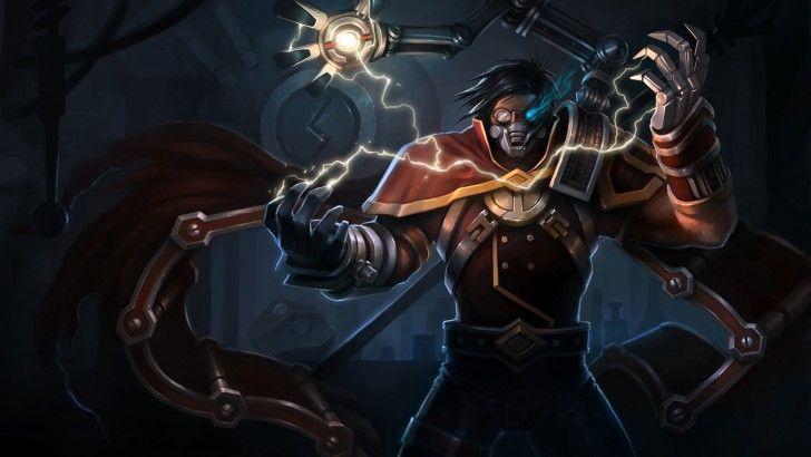 Viktor League of Legends High Resolution 4096x2560