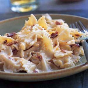 Farfalle With Carbonara And Spring Peas Recipes — Dishmaps