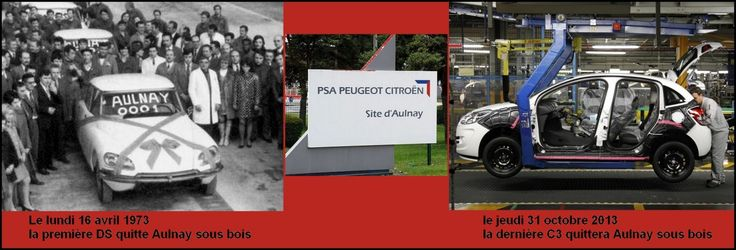 PSA : Dans deux mois, Aulnay-sous-bois ne produira plus de voiture