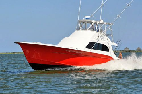 Charter boat fishing out of Hatteras Village