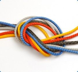 Rope: Kingfisher 12 Strand Dyneema Compact Line - For Boats, Marine, Canal, Narrow Boats, Yacht Rope, Garden, Decking Rope, Dyneema. Buy rope by the metre, include splices on rope. Best prices for rope.