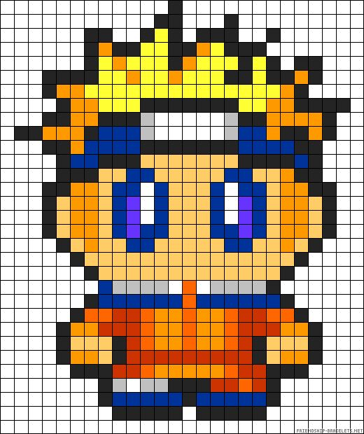 pixel art naruto