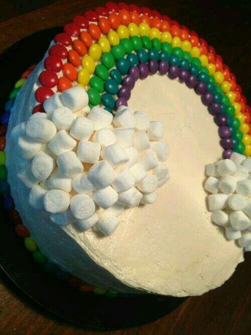 Gökkuşagi pasta