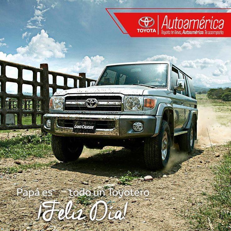 Papá, gracias por preferir recorrer los caminos con toda la fuerza #Toyota. ¡Feliz Día!