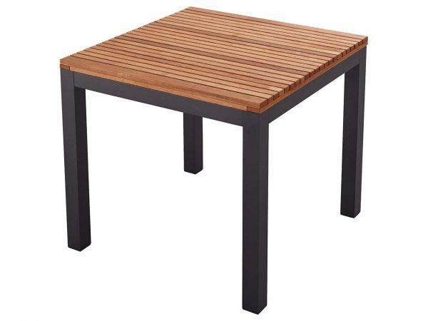 Gartenmobel Set Sassa 5 Teilig 4 Sessel 1 Tisch 80 X 80 Cm