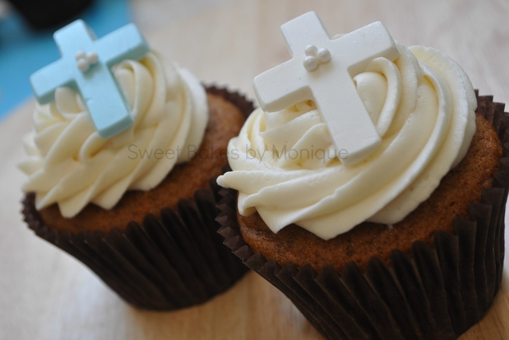 Baptism/Christening cupcakes