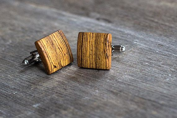 Check out this item in my Etsy shop https://www.etsy.com/listing/587331506/bocote-cufflinks-gift-for-men-mens