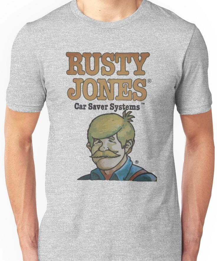 Rusty Jones Rust Prevention HiFi Unisex T-Shirt