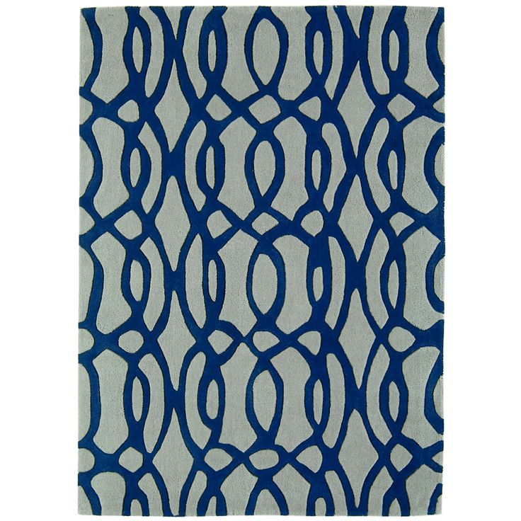Buy Matrix Wire Blue Rug | Rugs | The Range