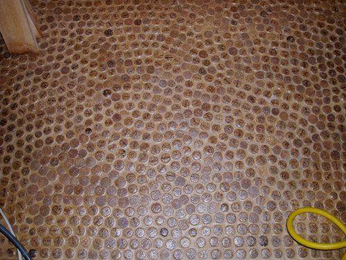 A wine cork floor: Diy Ideas, Phoenix Commot, Decor Ideas, Area Ideas, Wine Corks Floors, Bones House, Diy Decor, Corks Crafts, Corks Projects