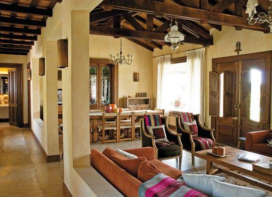 Living comedor decoraci n c lida hogar y espacios - Decoracion living comedor ...