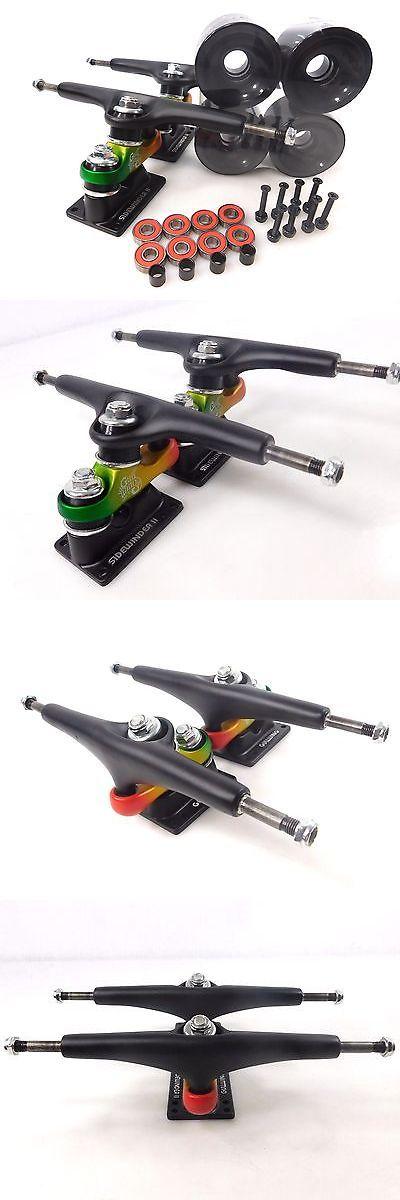 Wheels 165946: New Gullwing Sidewinder 2 Rasta Pro Longboard Trucks +70Mm Color Wheels Bearings -> BUY IT NOW ONLY: $54.99 on eBay!