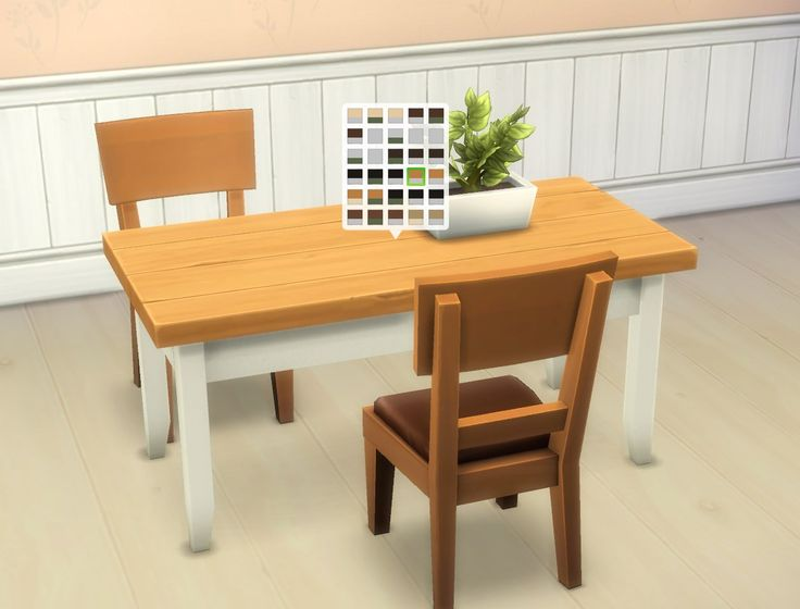 Mod The Sims - Boring Tables
