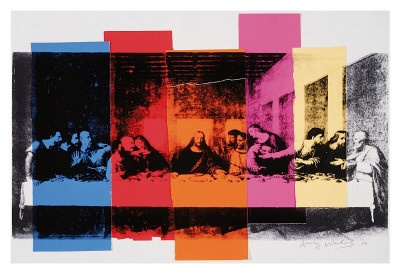 Detail of the Last Supper, 1986, Andy Warhol