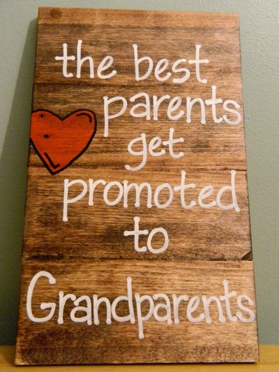 Reclaimed Wood Wall Hanging Grandparents Gift by theurbanupcyclers, $20.00