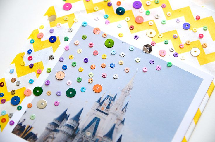 I love everything about this scrapbook  itsmeamanda : our project life: Disney World Album : Project Life Style