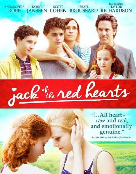 Джек из Красных сердец / Jack of the Red Hearts (2015/WEB-DLRip)  Девочка-подросток, выросшая на улице, находится в бегах от службы пробации. Нуждаясь в месте, где можно затаиться и заработать деньги, чтобы спасти свою 11-летнюю сестру из приемной семьи, она находит приют в пригородном доме и становится помощником для страдающей аутизмом дочери хозяев. Неожиданно у героини обнаруживается способность общаться с девочкой невербально. Но вскоре ей придется сделать трудный выбор.