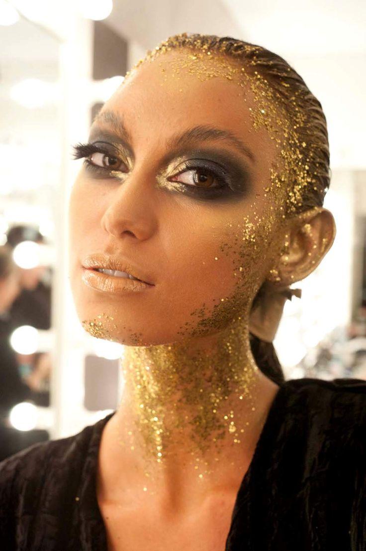 Beauty Breakdown: Illamasqua Golden Goddesses Myer Fashion Show | Sassi Sam Girlie Gossip Files