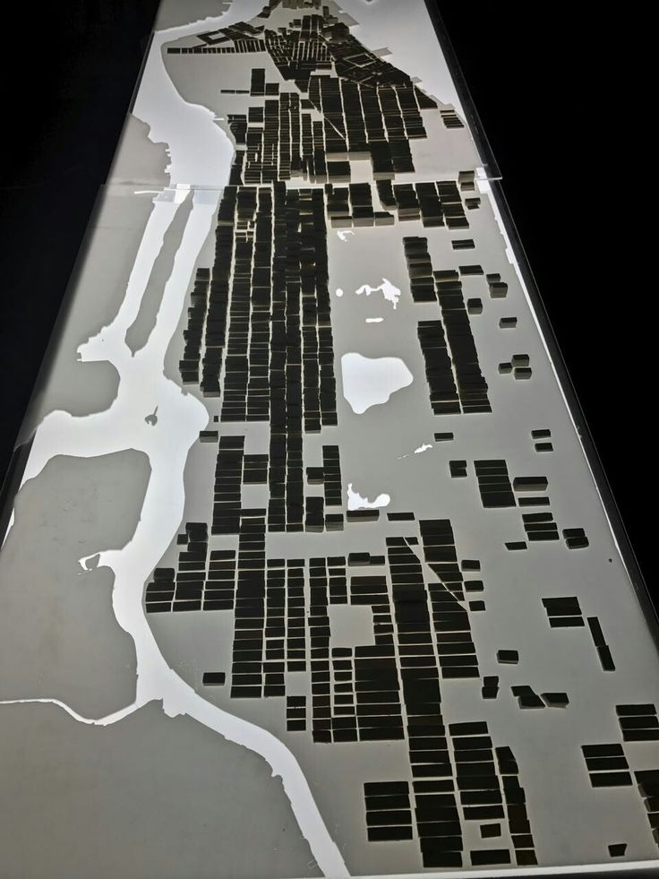 new york/ manhattan/ esc: 1: 25. 000