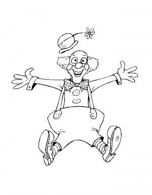 Circus coloring page 16