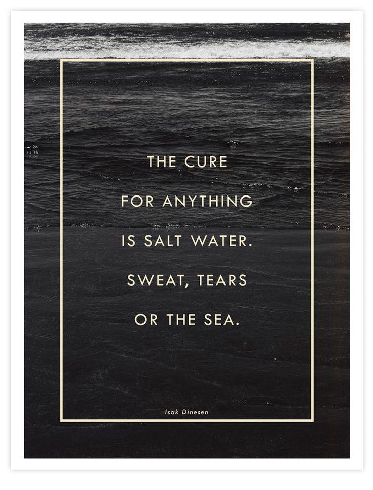 Salt Water Cure by Galaxy Eyes Art Print | Pop Motif