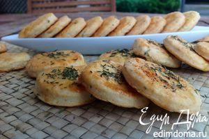 Рецепт – Греческое печенье с брынзой и тимьяном