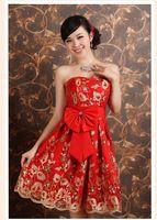 braid dress,evening dress,chinese style dress