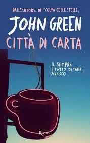 John Green Città di Carta PDF gratis – link per scaricare GRATIS il romanzo di John Green. Inoltre, scheda sintetica, sinossi e breve biografia dell'autore.