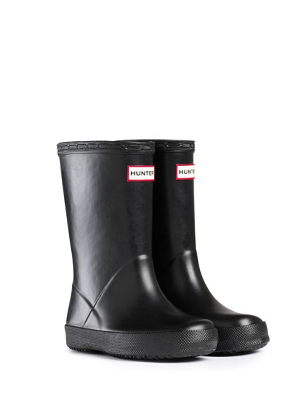 Rain Boots For Toddlers | Rubber Boots | Hunter Boots  Kids First Rain Boots | Black