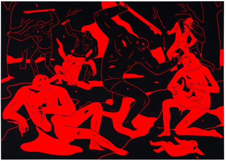 Juxtapoz Magazine - Cleon Peterson: Purity in Hong Kong