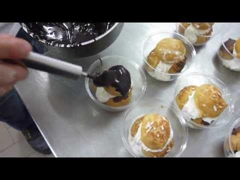 Come fare le Tortine al Cioccolato Monoporzione - Dolce in Coppa : Ricette dolci e Cucina - YouTube