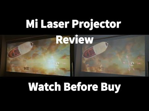 (16) Watch before buy: Mi Laser Projector Review [ft. Life of Pi] #samiluo - YouTube