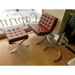 Actie Barcelona Chair / Stoel / Fauteuil/ design tweedehands en nieuw - AmaaiAmaai