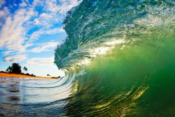 Hawaii Waves taken by photographers Nick Selway and CJ Kale.