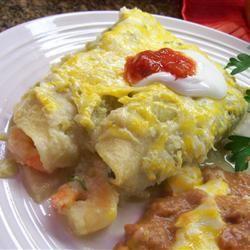 Shrimp Enchiladas Suizas Allrecipes.com   Shrimp   Pinterest   The o ...