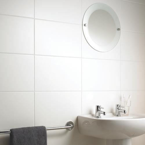 Ceramica Blanca 30x60 Rectificada Importada De 1era