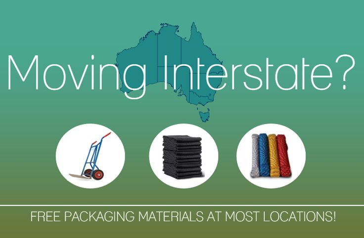 Moving Interstate - Free packing materials are standard!