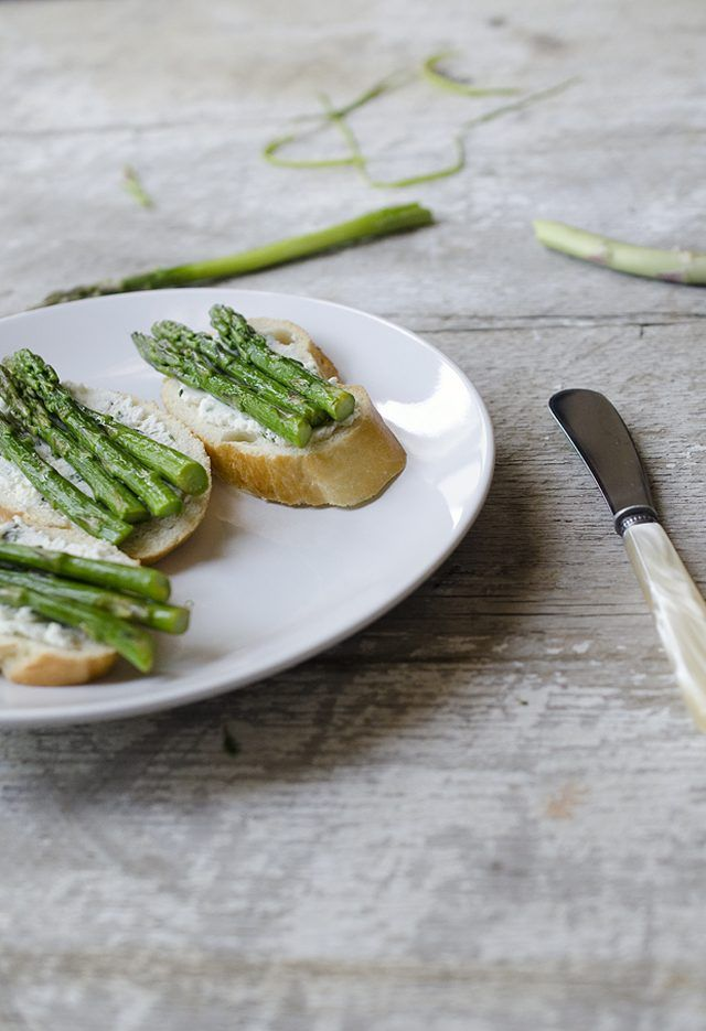 ... goat cheese and lemon pasta shaved asparagus and goat cheese crostini