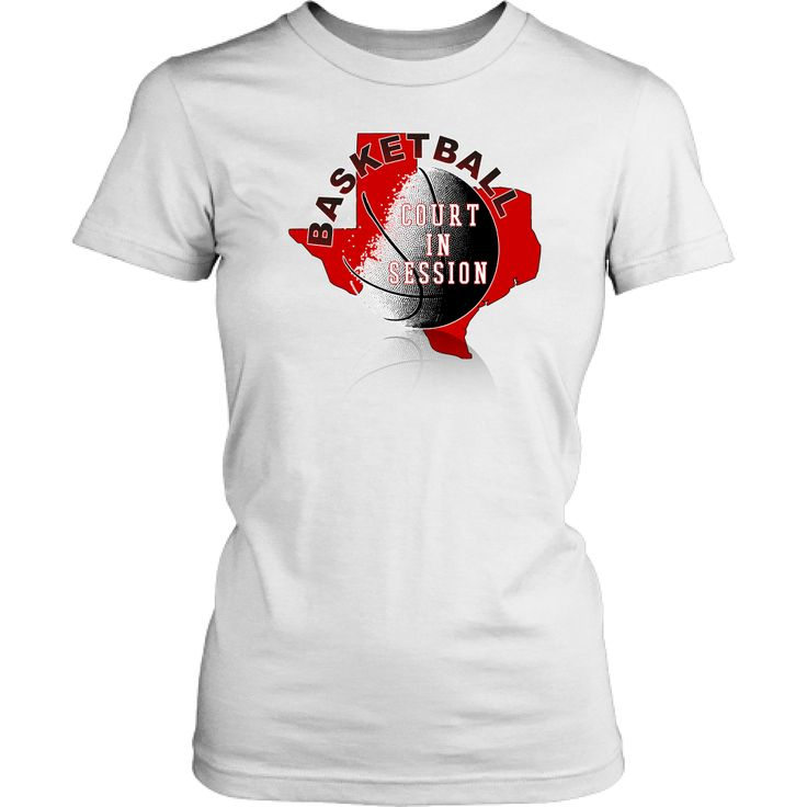 Texas Tech Basketball Court In Session Junior T-Shirt