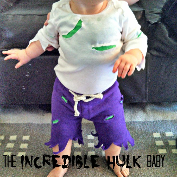 336 best halloween images on pinterest halloween ideas infant diy kadydid designs incredible hulk baby costume with some green socks solutioingenieria Choice Image