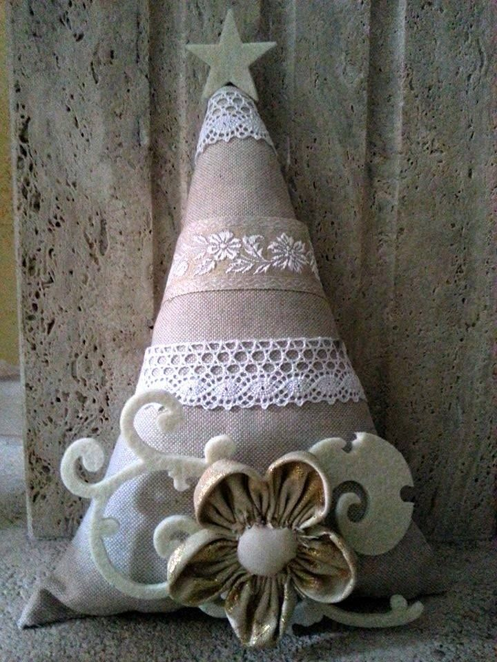 Will use different fabric but love this idea. christmas crafts