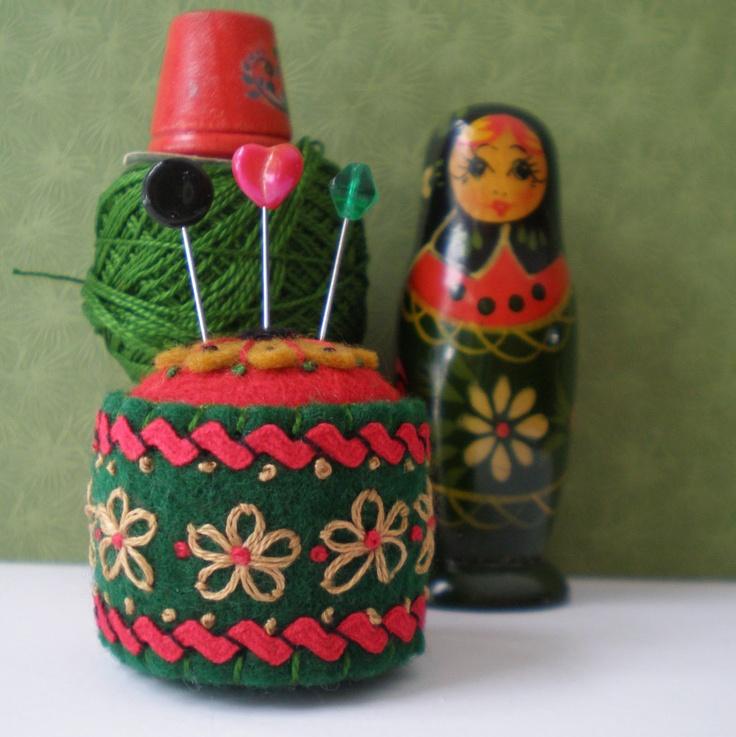 Russian pincushion