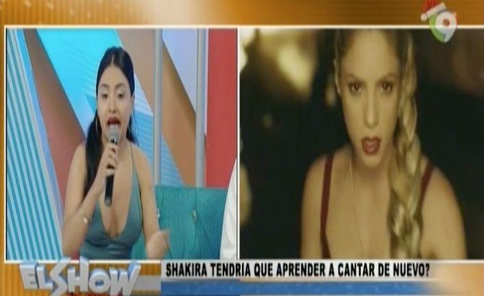 Shakira Tendría Que Aprender A Cantar De Nuevo Después De Su Operación