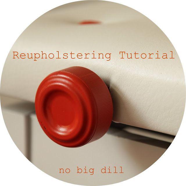 no big dill: NEO: Reupholstering Tutorial