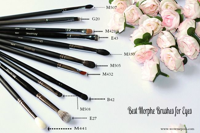You always wanted to have makeup brushes but they seem to be too expensive? The Best Morphe Brushes(Eyes) you will ever need to create stunning eye makeup.