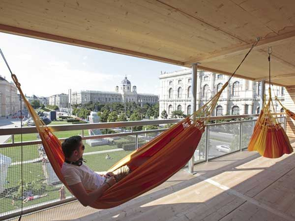 hammock house.: Wood Projects, Public Spaces, Favorite Places, Hammocks House, Parks, Bats House, Art Installations, Architecture Offices, Vienna Austria