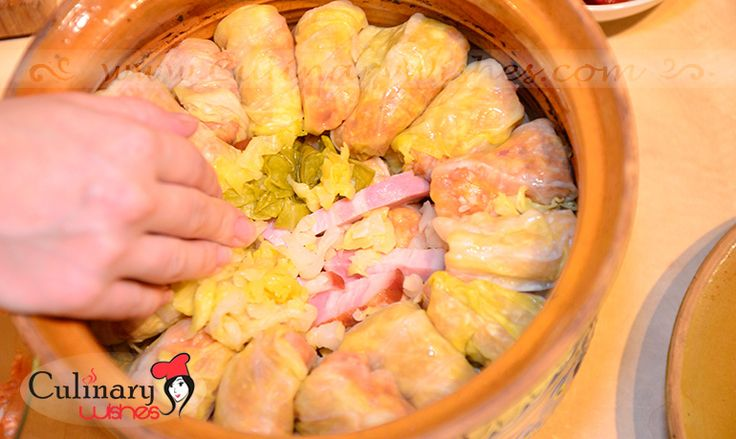 Sour cabbage rolls