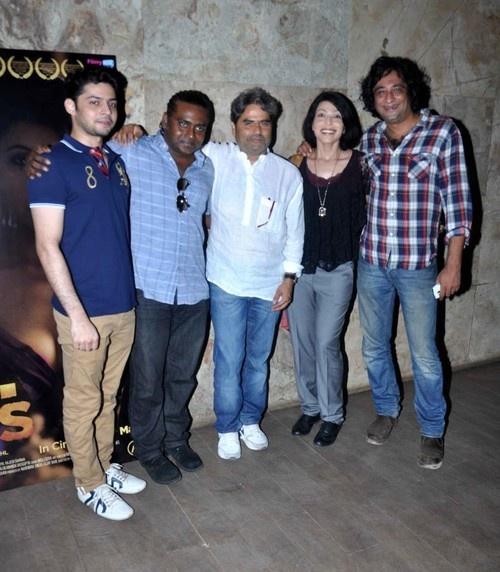 'BA PASS' Special Screening - Shadab Kamal, Vishal Bhardwaj, Shilpa Shukla, Ajay Bahl