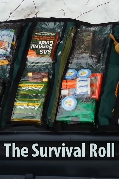 The Survival Roll Bags Survival And Bug Out Bag